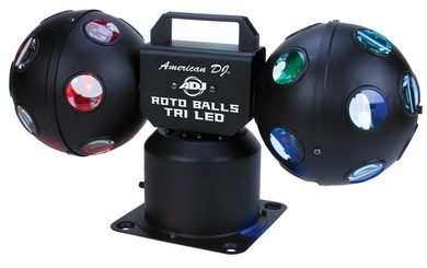 ADJ Roto Balls TRI LED - Click Image to Close