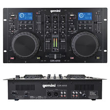 Gemini - CDM 4000 Dual CD Player & Mixer console