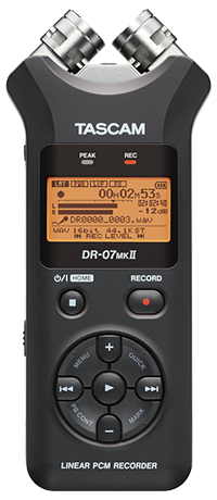 Tascam - DR-07MK2 Portable Digital Recorder