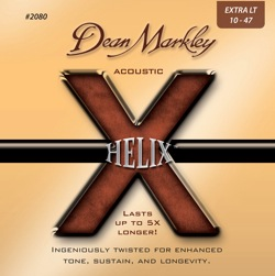 Dean Markely - Helix 12 - 53 Acoustic Guitar Strings